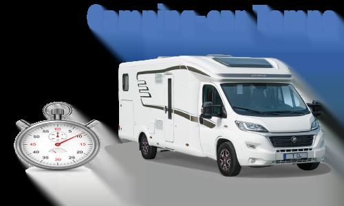 Assurance temporaire camping-car
