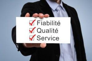 fiabilité qualité service assurance rc pro