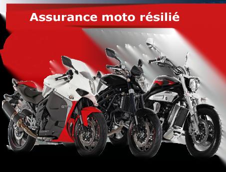 Assurance moto résilié