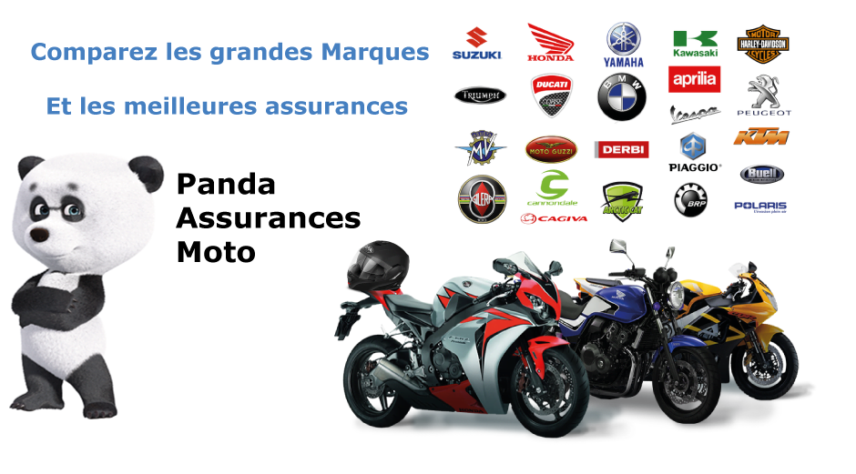 comparatif d'assuances des grandes marques moto