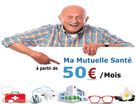 ma mutuelle santé seniors à 50€